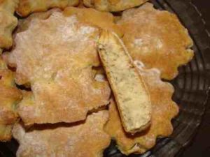 печенье без разрыхлителя