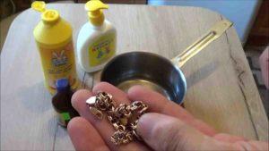 детский шампунь и украшения