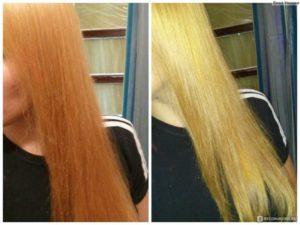 до и после смывки