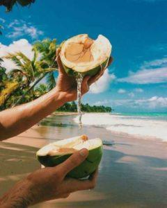 кокос жидкость