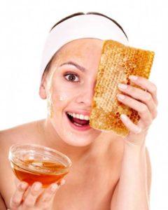 мед на лицо