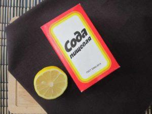 пачка соды лимон разрезан